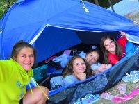 Acampadas al aire libre