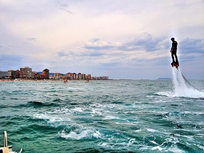 Flyboard en la playa de Denia 15 minutos
