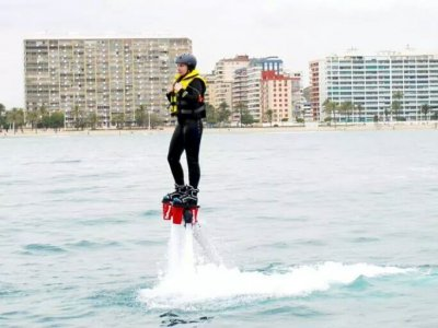 Despegue en Flyboard en Denia durante 20 minutos