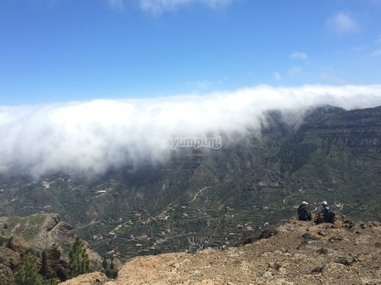 Clouds and the Teide