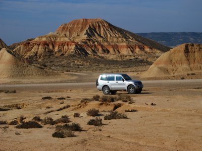 Guided 4x4 route in Bardenas Reales 3h 30 min