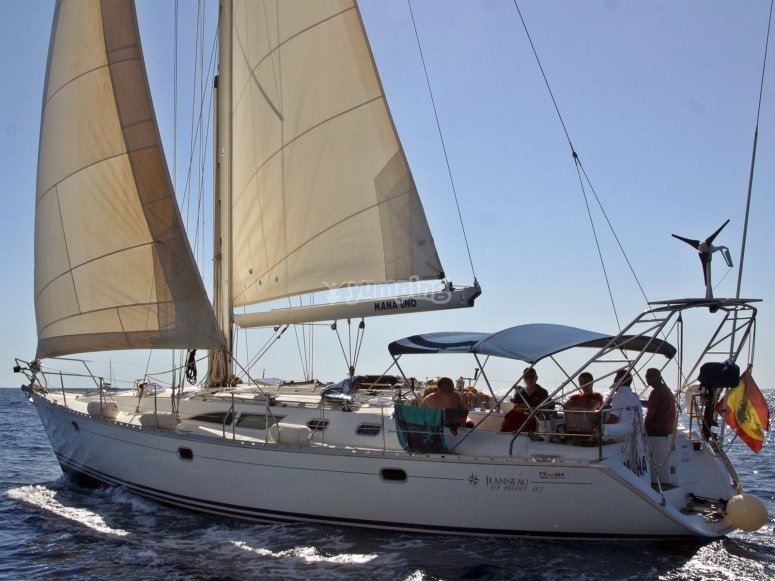 Amplio y cómodo velero