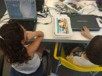 Robotics camp for children