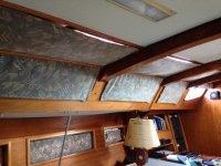 船上船室内休息