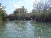 Canoe nella Serranía de Cuenca