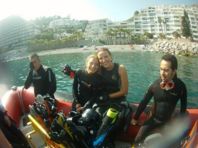 PADI Advanced Open Water en Almuñecar, 2 días