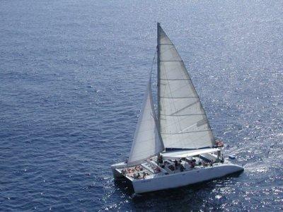 Excursión en catamarán en Vilanova i la Geltrú, 1h