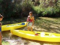 Kayaks en Cuenca