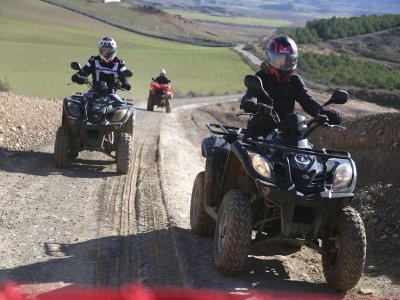 Tour guidato in quad, Bardenas Reales, 5 ore