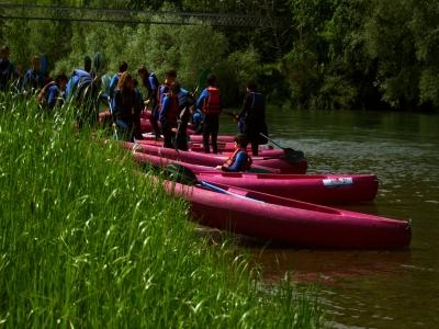 Descenso del río Cares en canoa, 2 horas