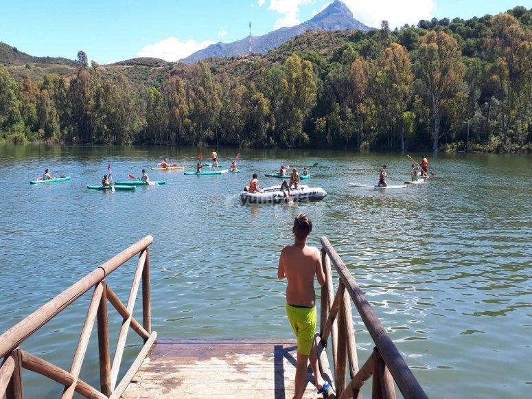 Actividades y juegos en el agua