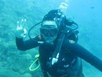 inmersion en aguas abiertas