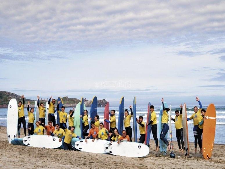 Surf camp nelle Asturie