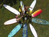 Campo di surf a Salinas