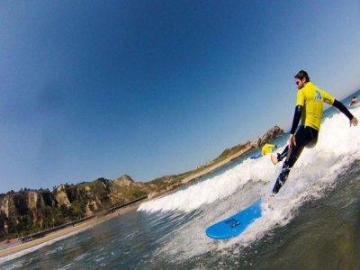 Surffing camp, children, Salinas, 7 days