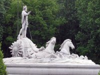 At the fountain of Neptune