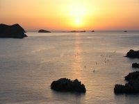 Ruta de SUP en la isla de Ibiza