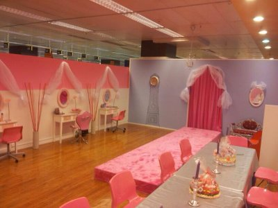 Children's princess party in Seville