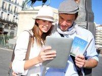 Buscando rutas en la tableta