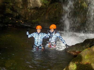 Speleocanyoning Purón river and Pruneda cave 4h
