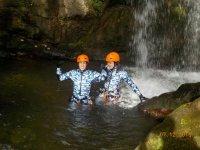 Espeleobarranco en río Purón y cueva de Pruneda 4h