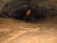 Estrechos durante la cueva