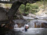 Descenso de Barranco en Papuos en Sierra de Gredos