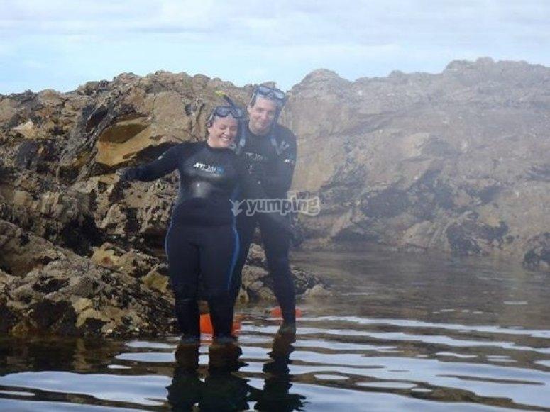 Ven a probar el snorkel