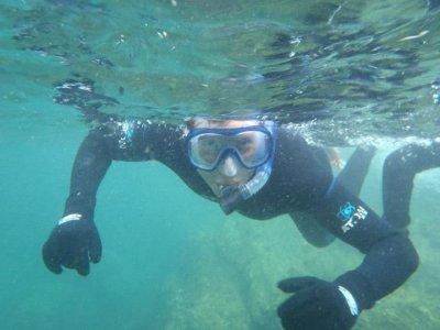 Sesión de snorkel en la costa cantábrica 2 horas