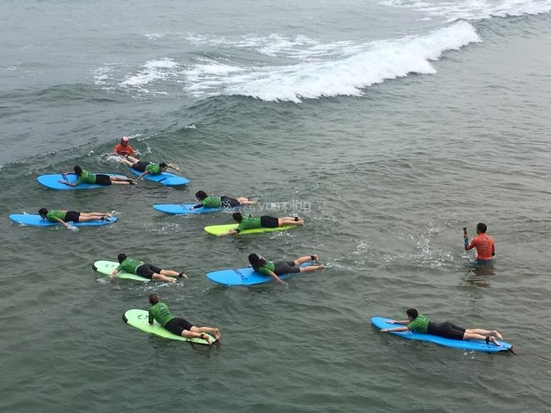 Clases de surf Pais vasco
