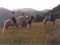 Ruta a caballo de un día