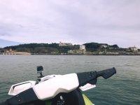 Vista de la Magdalena desde la moto de agua