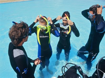 Discover Scuba Diving piscina en Madrid