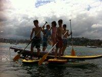 划桨冲浪夏季课程,5天,Gipuzkoa