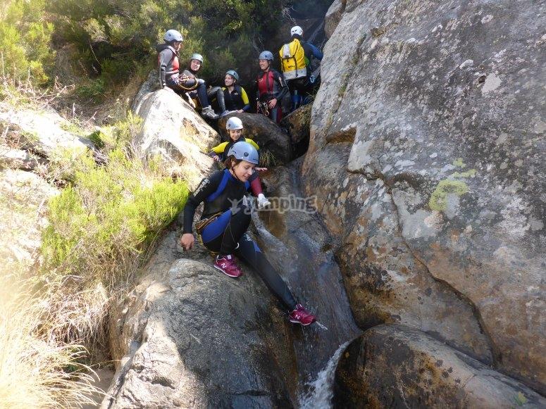 Somosierra canyoning