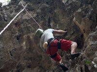 Climbing in Guara