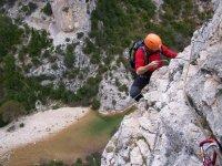 Via ferrata in Huesca