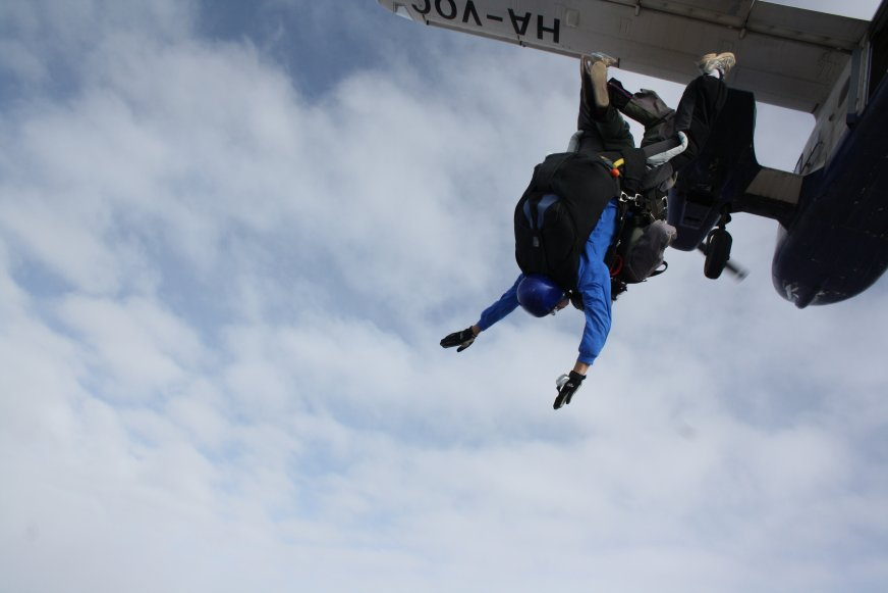 saltando, adrenalina a tope