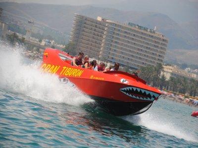 Sesión de Jet Boat de 440 cv en Torremolinos