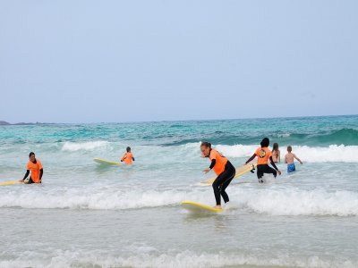 富埃特文图拉岛为期 3 天的冲浪课程
