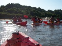 Itinerarios de mar en kayak