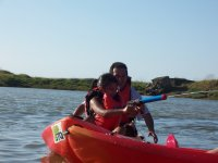 Juegos con kayaks