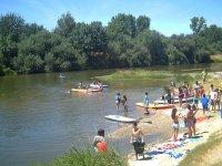 En el agua con actividades