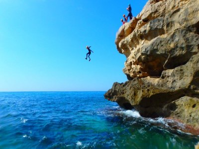 4-Hour Coasteering & Snorkel in Villajoyosa