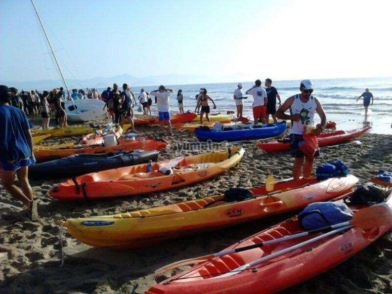 kayaks arenales del sol