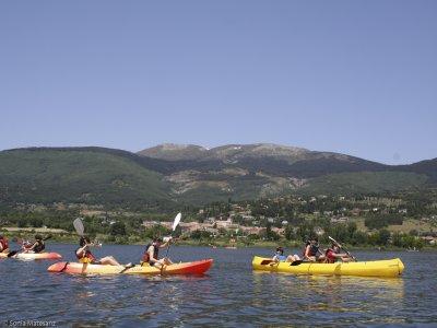 Paddle Surf e canoa a Lozoya