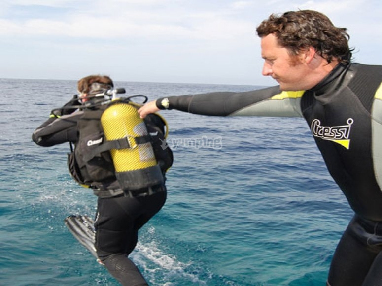 primera inmersion