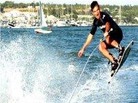 Sesión de wakeboard en El Rompido, 20 minutos
