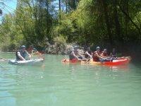 Compartiendo el rio