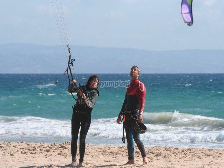 Curso de kite